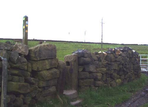 The stile after Croft Farm